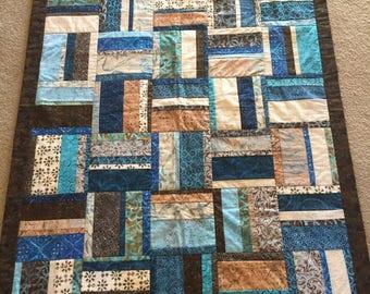 Blue-Brown Quilt