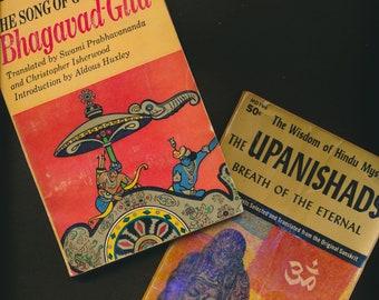 vintage BHAGAVAD GITA and UPANISHADS Mentor paperbacks