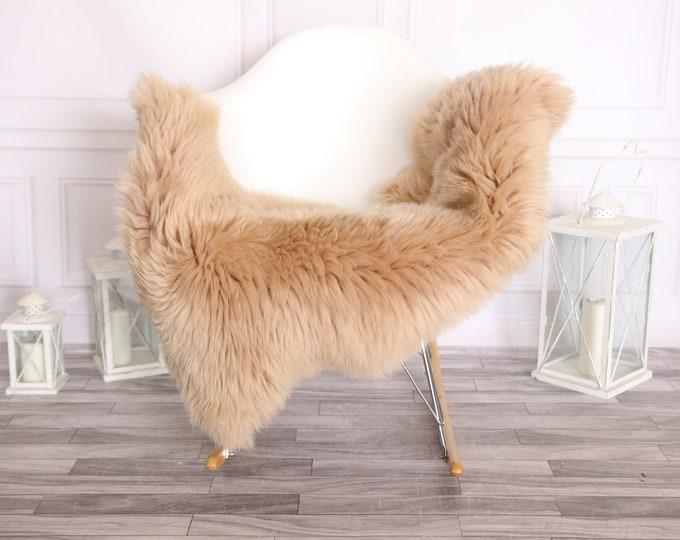 Sheepskin Rug   Real Sheepskin Rug   Shaggy Rug   Scandinavian Rug     SCANDINAVIAN DECOR   Champagne Sheepskin #OLHER2