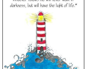 Print - 'Lighthouse'