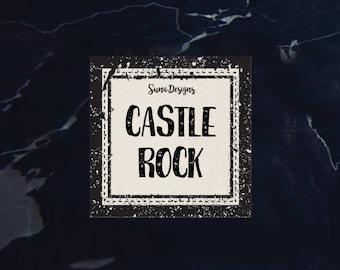 Castle Rock Candle