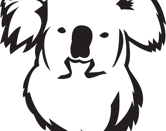 KOALA BEAR SVG