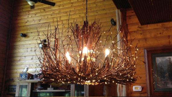 The castle rock 6 1 twig light rustic grapevine aloadofball Gallery