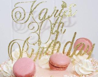 30th birthday Cake Topper