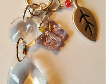 Spring into Fun SALE - Light or FAN pull or Rear View Mirror Charms