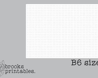 b6 tattoo babe grid insert thbs collab printable
