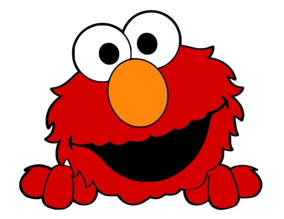 Dibujos Para Colorear De Elmo Bebe: Elmo Collection Svg Pdf Png File