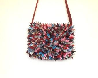 Funky hipster bag, Festival bag, Hippie bag, Gypsy bag, Bohemian bag, cross body bag, Carrie Original