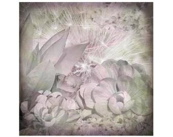 Pastel Floral Canvas