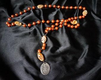 Hand Beaded Rosary