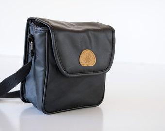 CASE Polaroid Black Soft TOMAHAWK Film Strap Instant Film Camera Bag 35mm analog purse Vintage Display  TheHeartTheHome originals 32