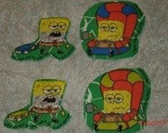 Sponge Bob iron on appliques