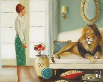 The Houseguest. Art Print