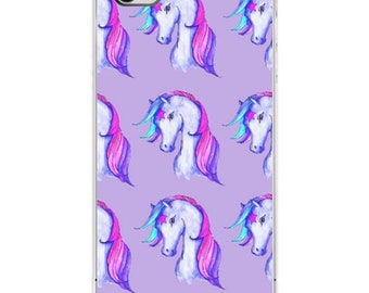 Unicorn Pink iPhone Case Various Sizes
