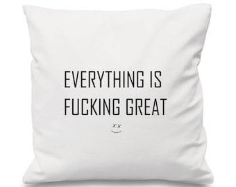 Louis Tomlinson Cushion, Just Hold On Cushion, Lyrics Cushion, Song Cushion, Music cushion, One Direction Cushion,1D Cushion Naughty Cushion