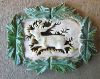 Carved Deer or Stag