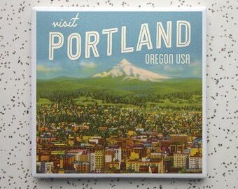 Portland Technicolor Coaster