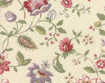 Moda JARDIN de VERSAILLES-Pearl-by French General  (13810 12)-by the YARD