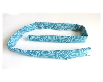 Catheter Tubing Cover | Urine Tube Cover | Catheter Tube Cover | Wheelchair Accessories | Drainage Tube Cover | TURQUOISE SWIRLS