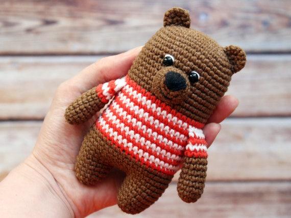 Easy Amigurumi Bear Pattern : Amigurumi pattern crochet bear pattern crochet teddy bear pattern