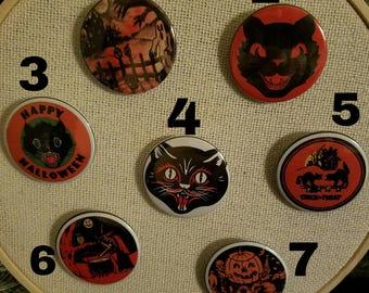 Vintage replica Halloween pins