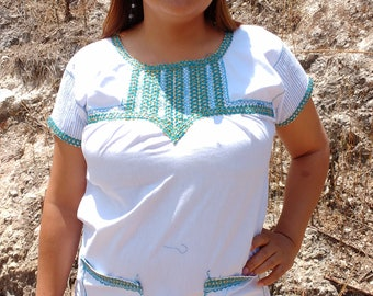 Traditional white blouse