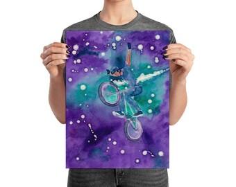 BMX Poster - BMX Nebula