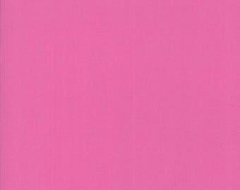 Moda BELLA SOLIDS Quilt Fabric 1/2 Yard - Petal Pink 9900 212