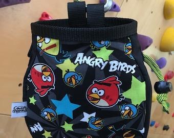 Angry Birds print Chalk Bag
