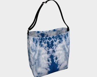Cloudy Sky Day Tote Bag