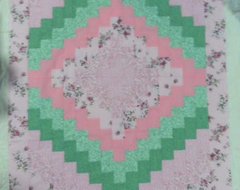 "Baby Quilt Top -  measures 36""X 46"" - Quilt Top Only"