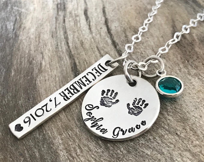 Gift for New Mom | New Mom Gift | New Mom Jewelry Necklace | New Mother Gift | New Mommy Gifts | Push Present | Birthstone Necklace