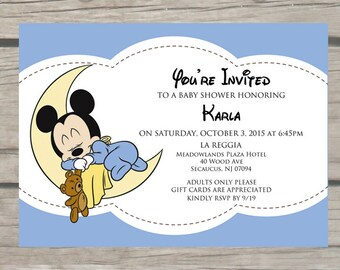 Mickey Baby Shower | Etsy