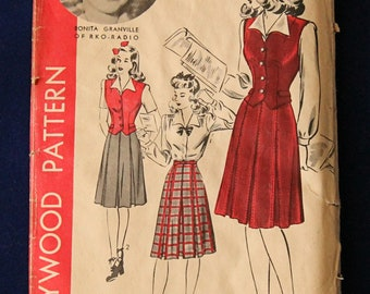 1940's Hollywood Pattern 1199