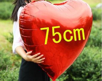 Valentine's day Big red Heart balloon