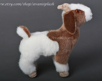 Billy the Goat Plushie Doll