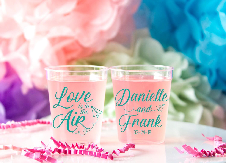 Wedding Shot Glass Personalized Shot Glass Plastic Custom