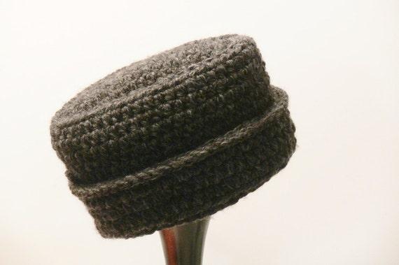 Crochet Pattern Mens Hat Cossack Hat Chunky Winter