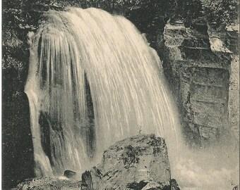Dauphine, France - Sassenage La Cascade du Furon,  circa 1910 Unused Postcard