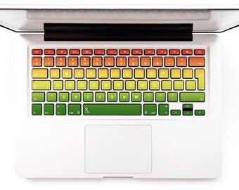 Macbook Decal Keyboard Sticker for Macbook Lenovo Asus Sony Dell HP Acer Samsung Toshiba Chromebook Jamaica Reggae Rasta # One Love