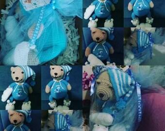 Amigurumi sleep bear friend