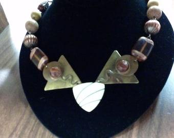 retro mix necklace