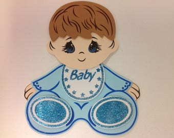 Baby shower supplies/ foam baby decoration