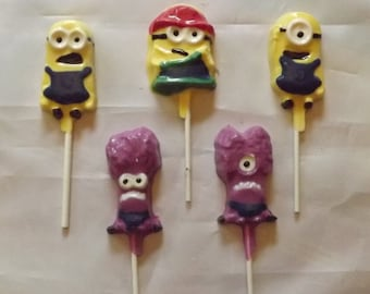 Minion Lollipops Chocolate Candy