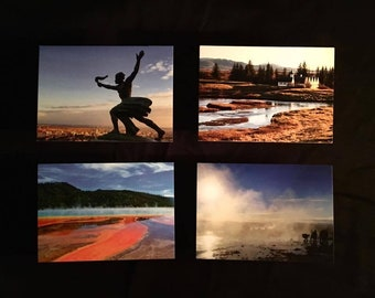 Pack of 4 Travel Postcards