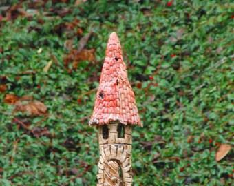 ceramic lantern witch tower