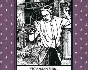 Victorian Shirt, Folkwear Pattern 202