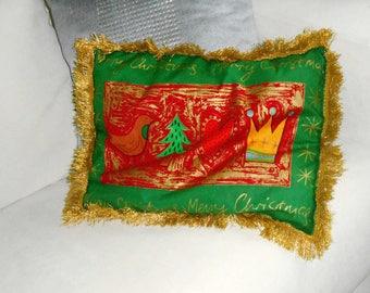 Christmas ornament - Merry Christmas cushion
