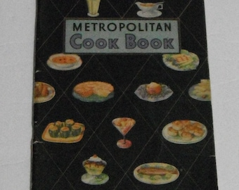 Metropolitan Cook Book Vintage Softcover Book from Metropolitan Life Insurance Company