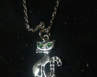 Love My Cat Swarovski Necklace
